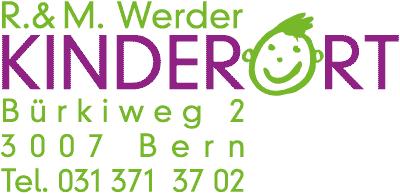 Logo Kinderort, Tel. 031 371 37 02
